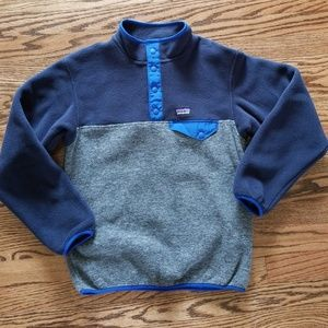 Patagonia Boys' Snap Pullover Size: Lg (12)